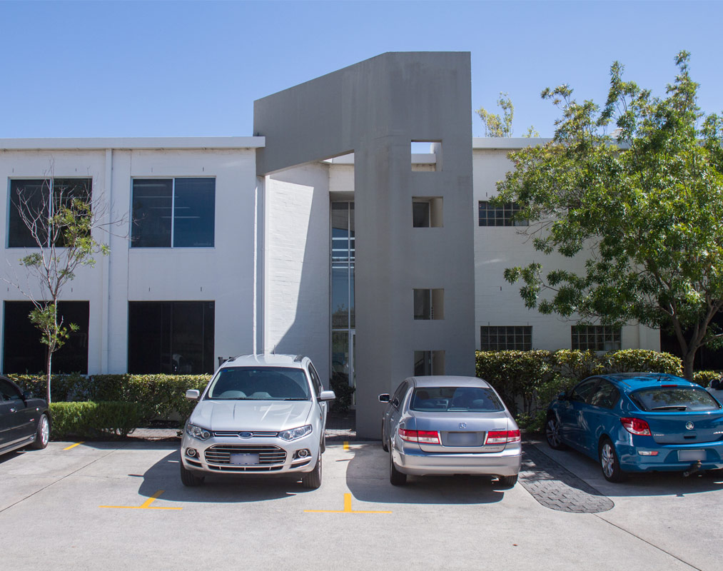 A spacious parking space near at the como corporate centre.