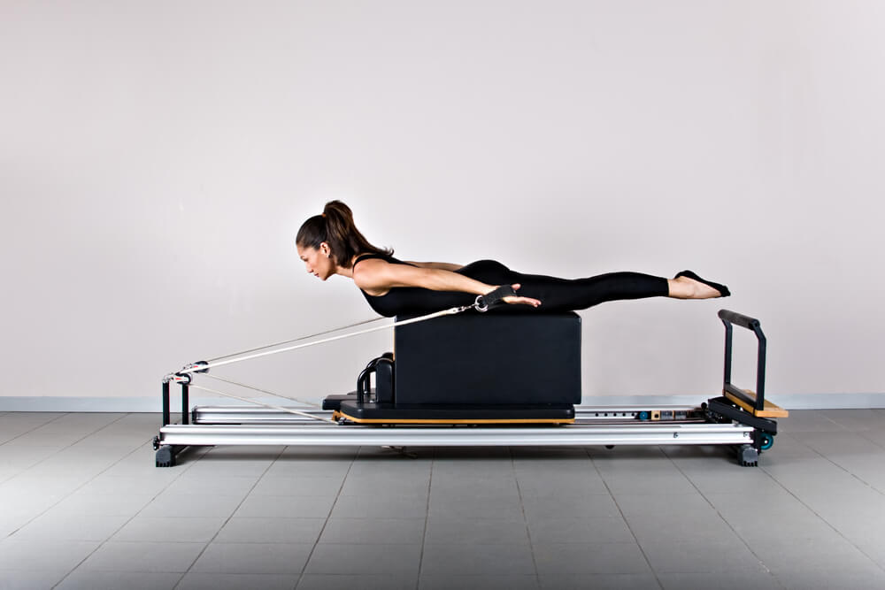 Clinical Pilates being used by a woman
